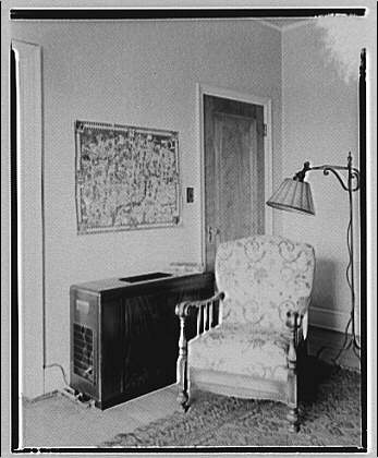 Potomac Electric Power Co. air conditioning and lighting. Marshall apartment, 2800 Ontario Road