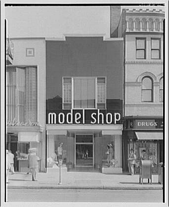 Potomac Electric Power Co. air conditioning and lighting. Model Shop II