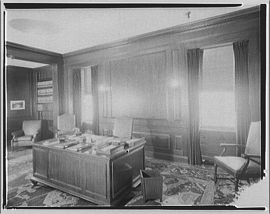 Potomac Electric Power Co. air conditioning and lighting. Mr. Hamm's office