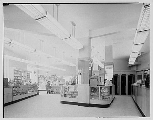 Potomac Electric Power Co. air conditioning and lighting. Porter St. drugstore II