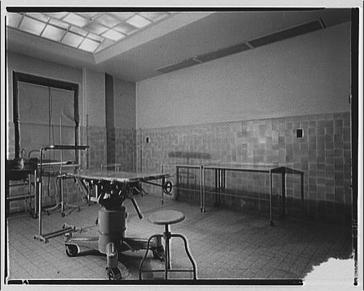 Potomac Electric Power Co. air conditioning and lighting. Sibley Hospital, operating room I