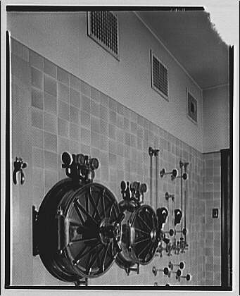 Potomac Electric Power Co. air conditioning and lighting. Sibley Hospital, operating room II