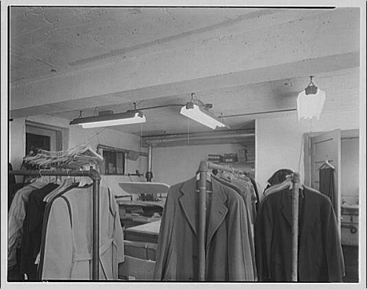 Potomac Electric Power Co. air conditioning and lighting. Tailor shop on Pennsylvania Ave. II