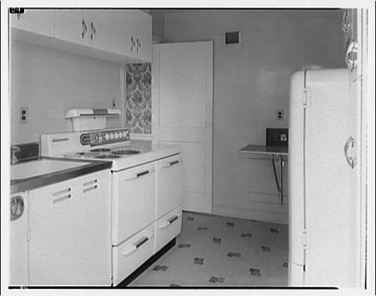 Potomac Electric Power Co. apartments and kitchens. Cambridge Construction Co. kitchen, Alta Vista, Maryland I