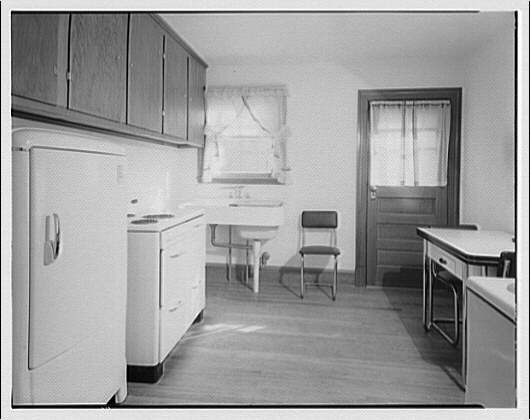 Potomac Electric Power Co. apartments and kitchens. Kitchen I