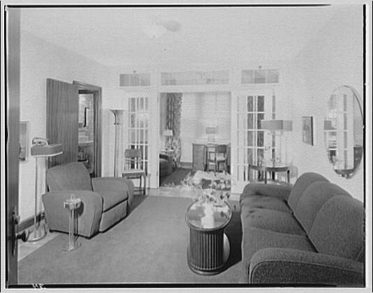 Potomac Electric Power Co. apartments and kitchens. Munson Hall Apartments I
