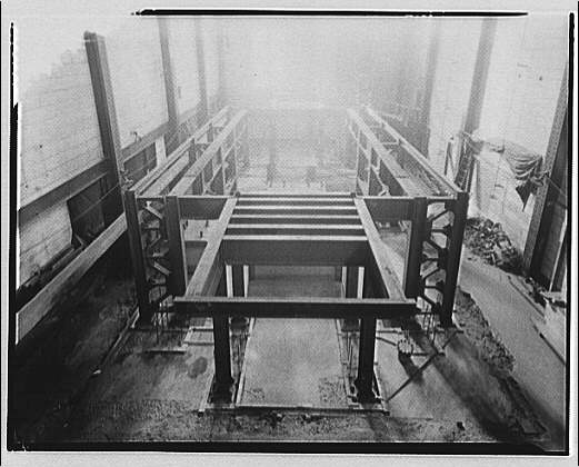 Potomac Electric Power Co. Benning plant. Construction for frequency changer at Benning plant III