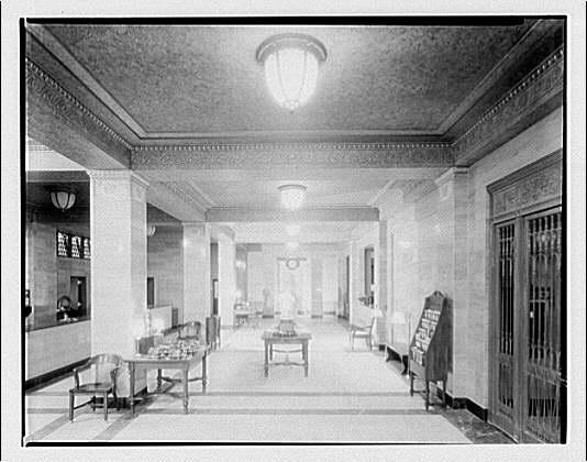 Potomac Electric Power Co. Building. Potomac Electric Power Co. store interior VI