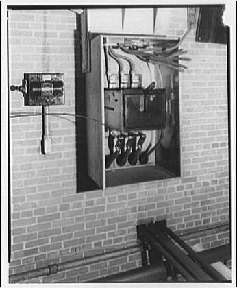 Potomac Electric Power Co. Building. Transformer explosion V
