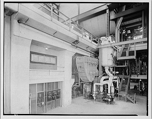 Potomac Electric Power Co. Buzzard Point plant. New or second turbine installation at Buzzard Point plant II