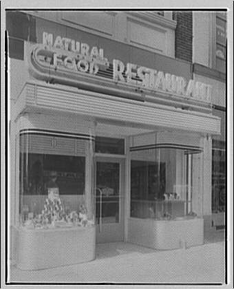 Potomac Electric Power Co. commercial kitchens, restaurants and lighting. Natural Food Restaurant I