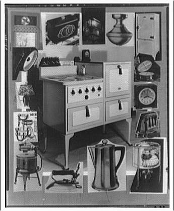 Potomac Electric Power Co. electric appliances. Appliances montage I