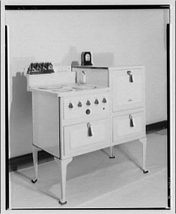 Potomac Electric Power Co. electric appliances. Electric range II