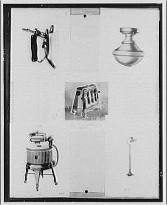 Potomac Electric Power Co. electric appliances. Electrical appliances (five)