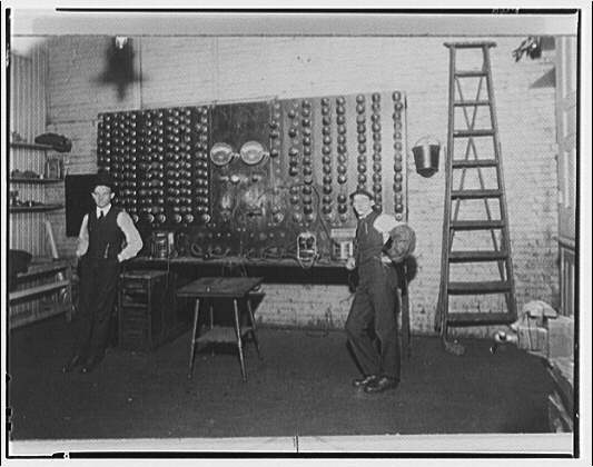 Potomac Electric Power Co. miscellaneous. Copy negative of old PEPCO pictures VIII