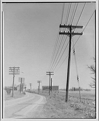 Potomac Electric Power Co. Power line near Washington Grove VII