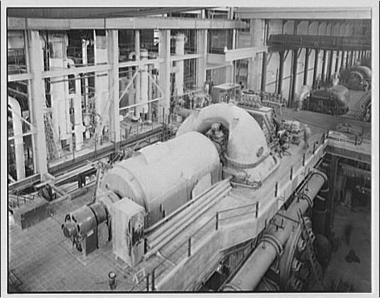 Potomac Electric Power Co. Power plant interior