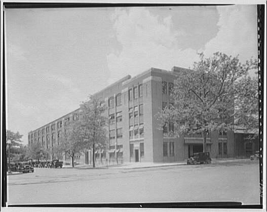 Potomac Electric Power Co. service station building, 10th and Florida Ave. Service station building
