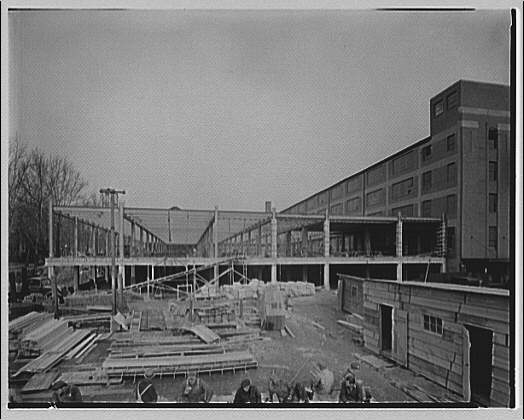 Potomac Electric Power Co. service station. Construction of new service station building I