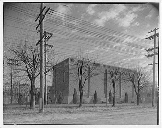 Potomac Electric Power Co. substations. Bethesda substation V
