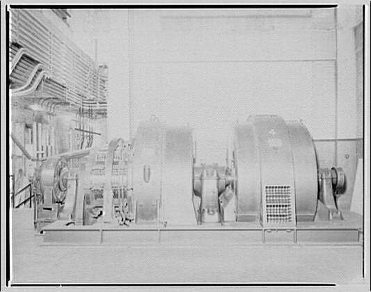 Potomac Electric Power Co. substations. Machine in L St. station