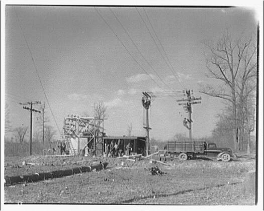 Potomac Electric Power Co. substations. Muirkirk substation, Maryland