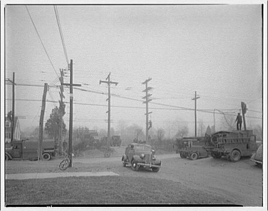 Potomac Electric Power Co. substations. Substation repair work