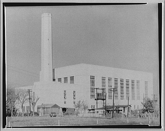 Potomac Electric Power Co. View of PEPCO power plant I