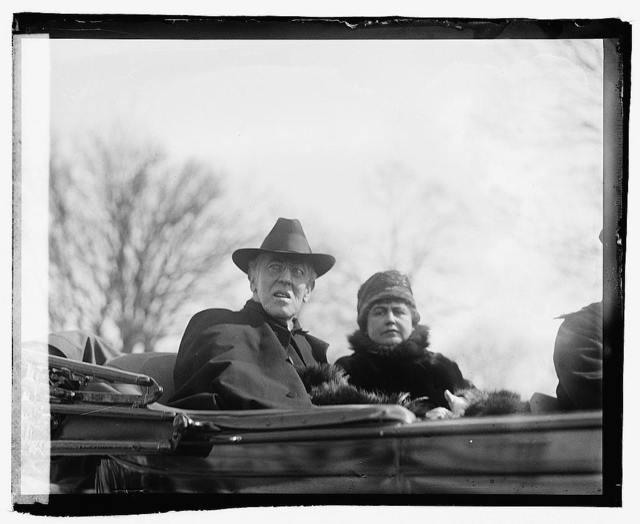 Pres. & Mrs. Wilson