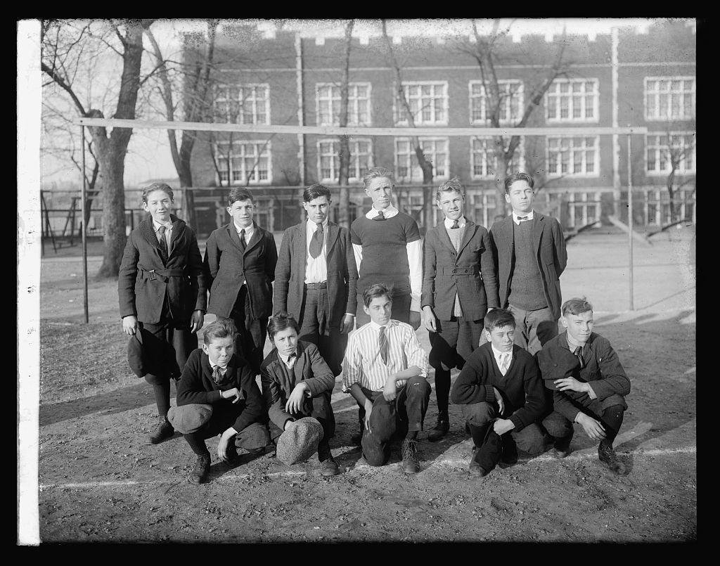Price School soccer team, 1920