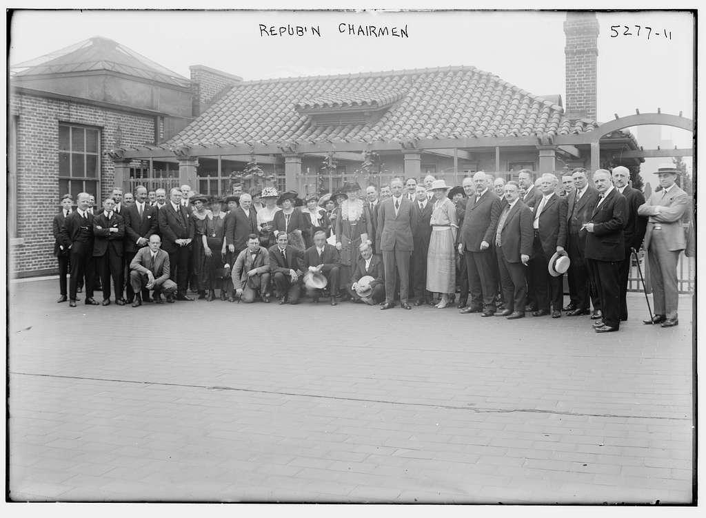 Repub'n Chairmen, 1920