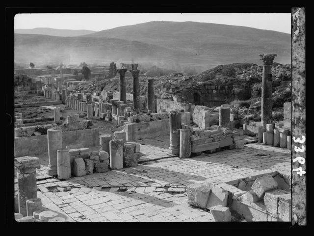 Ruins of Jerash (Gerasa). Jerash. Church of St. Theodore. The west entrance