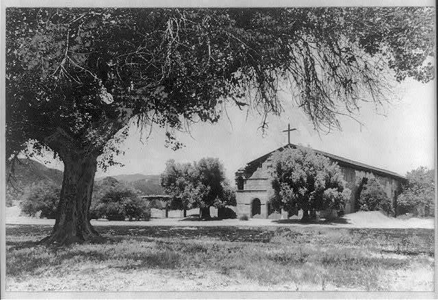 San Antonio de Padua Mission founded 1771. Jolon, near King City, Calif.
