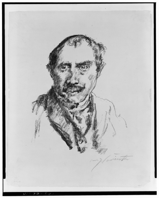 [Self-portrait] / Lovis Corinth.