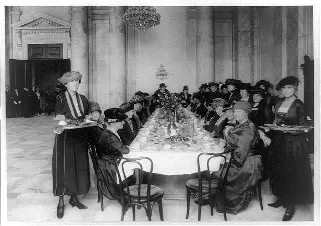 [Senate ladies' tea, Washington, D.C.]