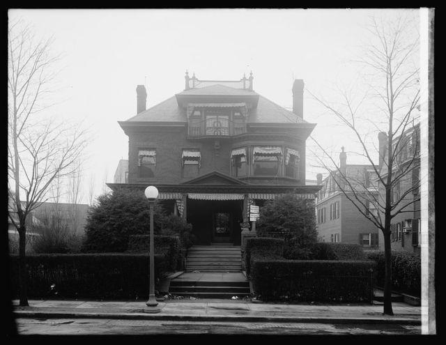 Smallwood, 1825 Col. Rd., [Washington, D.C.]