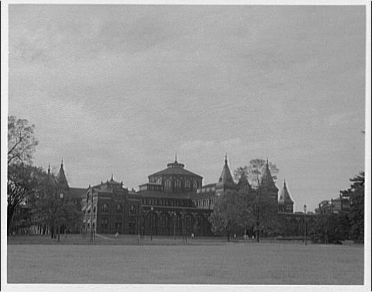 Smithsonian Institution exteriors. Exterior of Arts and Industries Building