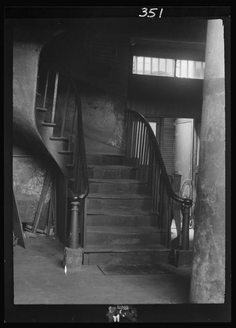 Spiral stairway, New Orleans or Charleston, South Carolina
