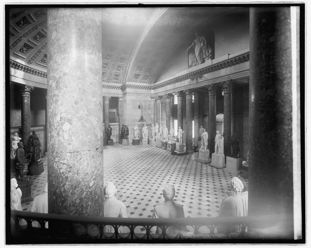 Statuary Hall, [Capitol, Washington, D.C.]