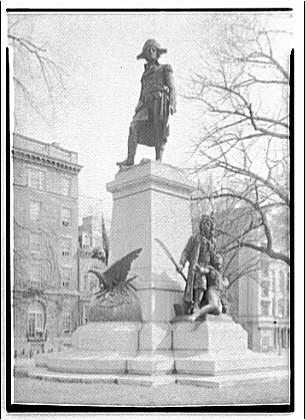 Statues and sculpture. Kosciuszko, Lafayette Square