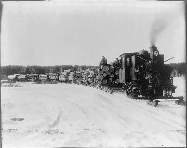 Steam hauler, Park Rapids, Minnesota