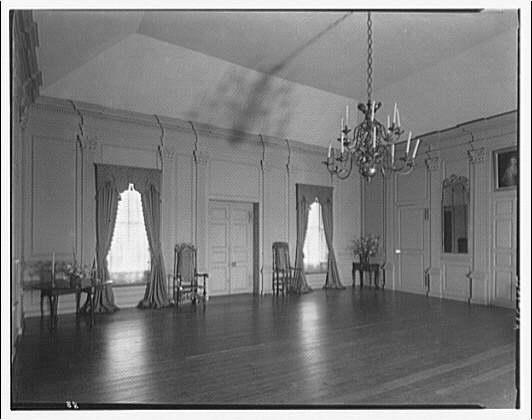 Stratford Hall. Main room at Stratford Hall I