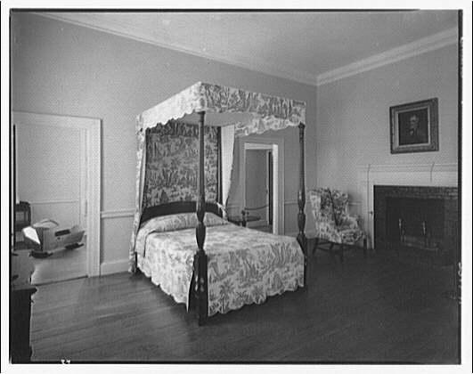 Stratford Hall. Mother's room at Stratford Hall