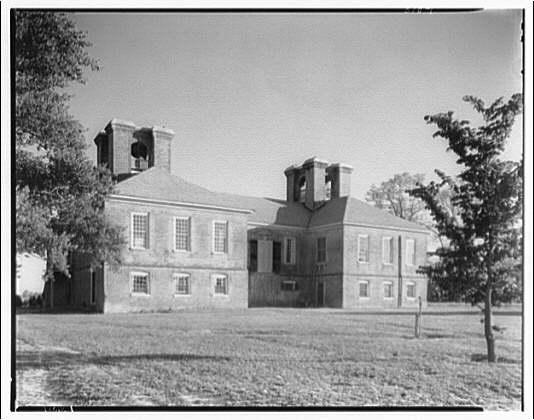 Stratford, Lee family estate. Exterior of Stratford I