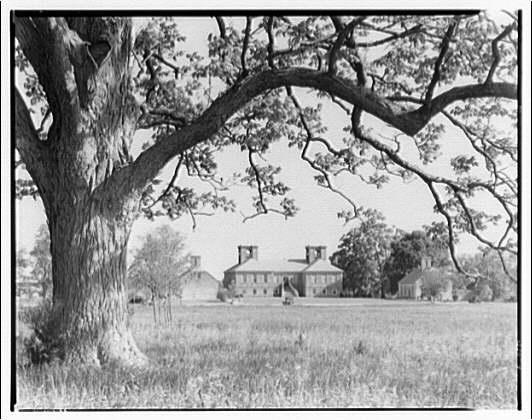 Stratford, Lee family estate. Exterior of Stratford III