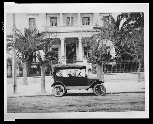 The home of an exiled prince. Now the headquarters of the American Red Cross in Athens, Greece It was turned over to the Americans by the Greek government after Prince Ypsilanti, confidential adviser to the former King Constantine, had followed that former monarch into Switzerland for an indefinite sojourn.