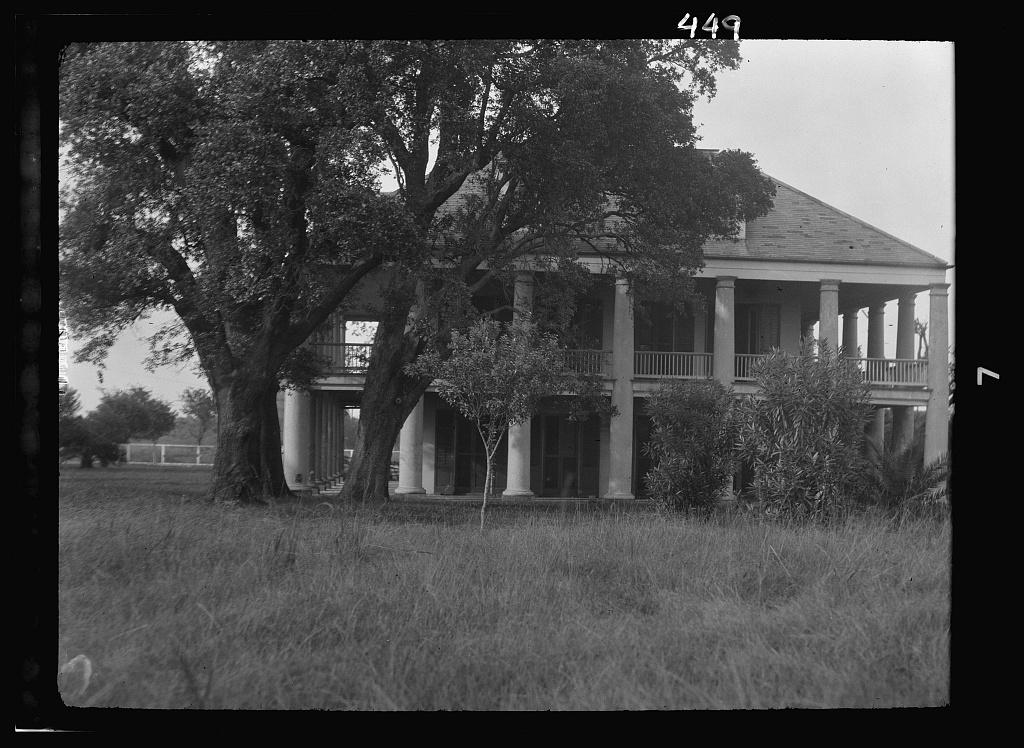 Three Oaks plantation, New Orleans