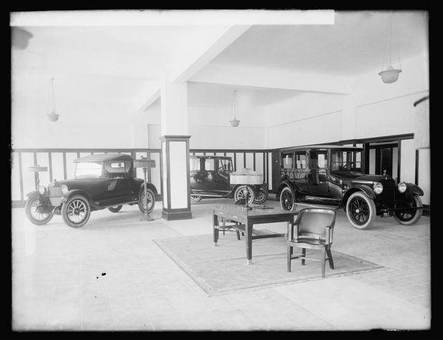 Trew Motor Co. interior, [Washington, D.C.]