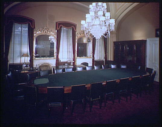 U.S. Capitol interiors. Committee room in U.S. Capitol I