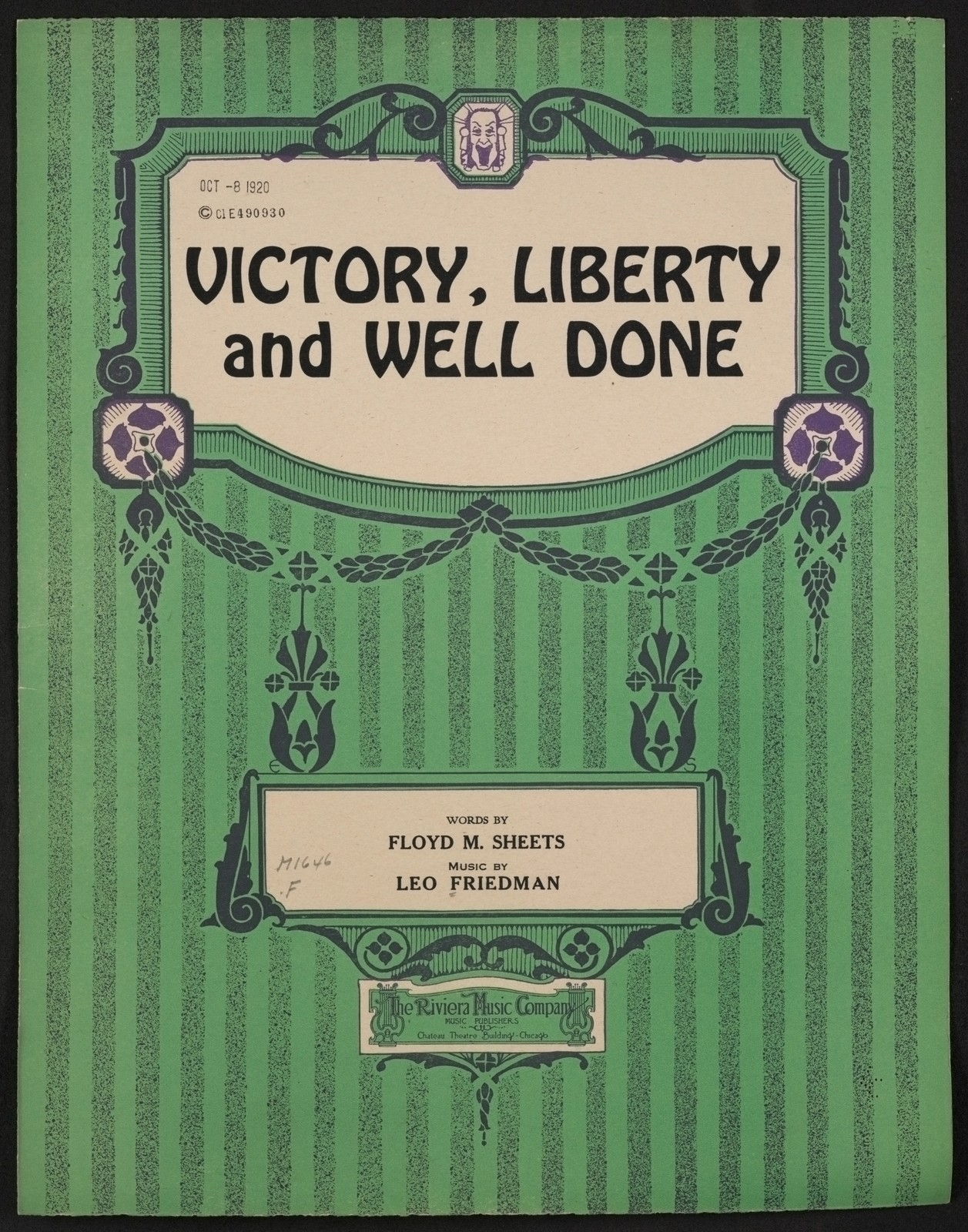 Victory, liberty, and well done